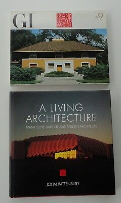 2 Unread Frank Lloyd Wright Global Interior Houses Living Architecture Taliesin