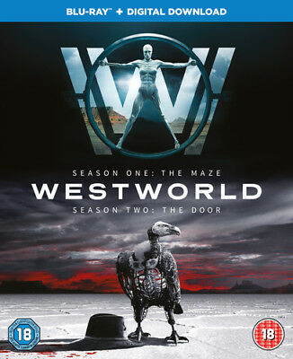 Westworld: Seasons One - The Maze/ Season Two - The Door Blu-Ray (2018) Evan