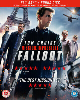 Mission: Impossible - Fallout DVD (2018) Tom Cruise, McQuarrie (DIR) cert 12 2
