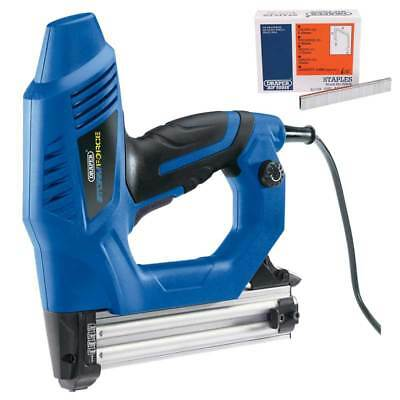 Draper Storm Force Electric Stapler/Nailer Kit with Extra 5000 Staples (16mm)
