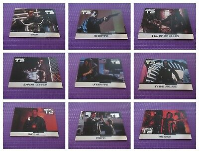 Terminator 2 Judgement Day Chase Card Set - F1-F9 by Unstoppable Cards