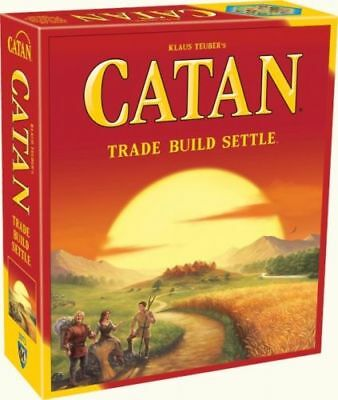 New Settlers of Catan Board Game 5th Edition 4 Players Party Home Game