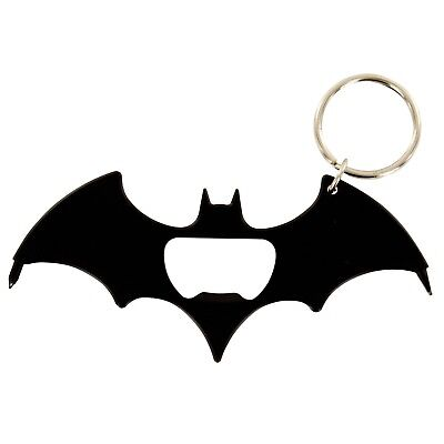 Batman Multi Tool Keyring Bottle Opener Screwdrivers Black Bat Logo Signal