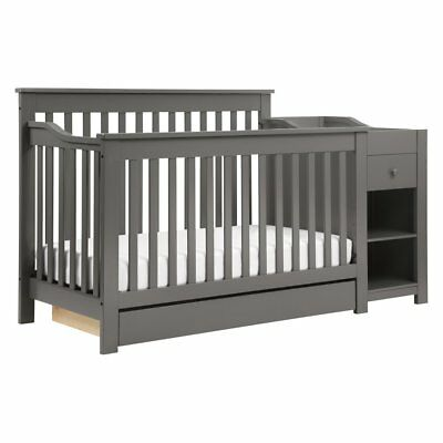DaVinci Piedmont 4-in-1 Crib and Changer Combo