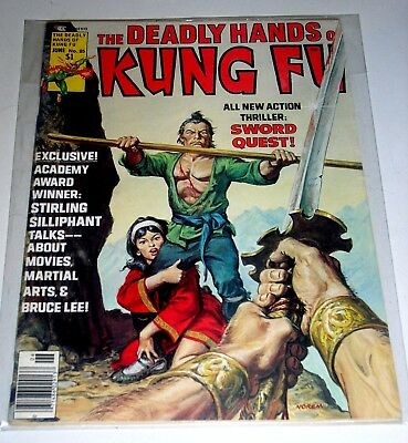 DEADLY HANDS OF KUNG FU #25  BRONZE AGE MARVEL MAGAZINE Free Shipping