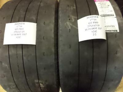2 New Hoosier Qt Pro 29 14.5 15 Drag Radial Tires W Label 17710 Q8