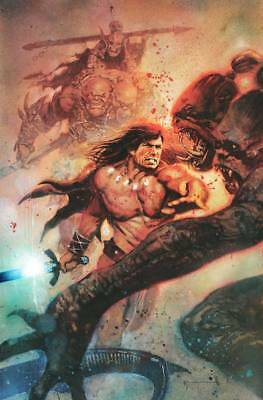 (2019) CONAN THE BARBARIAN #1 Bill Sienkiewicz 1:200 VARIANT COVER