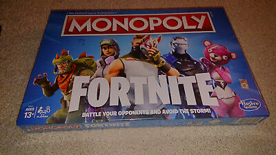 Fortnite Monopoly Board Game Christmas Brand New Sealed
