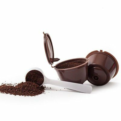 plastic PP Reusable Coffee Capsules Cup Filter For Refillable Brewers Nescafe SA