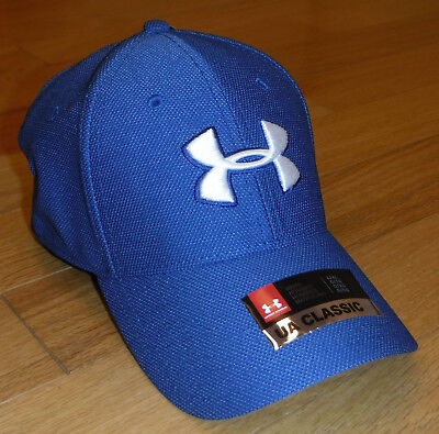 1d2053d1e05 NWT UNDER ARMOUR HeatGear Heathered Blitzing Mens Flex Fitted Hat-L XL Ret