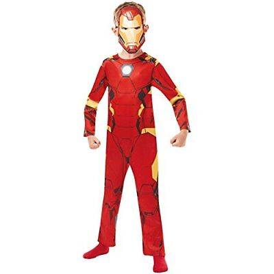 Rubie' s 640886 ufficiale Marvel Avengers Iron Man Classic child (F0m)