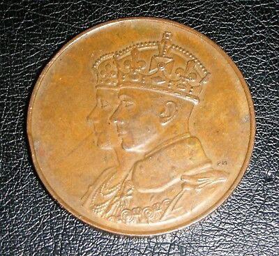 1939 Royal Visit to the Americas - Large Format Medal.  LOWEST PRICE ON EBAY!!!!