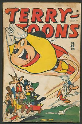 Terry-Toons Comics #49  Timely Atlas Mighty Mouse