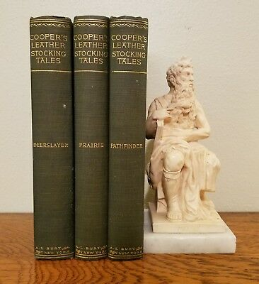 The Prairie Leatherstocking Tales By J Fenimore Cooper Hc Leather