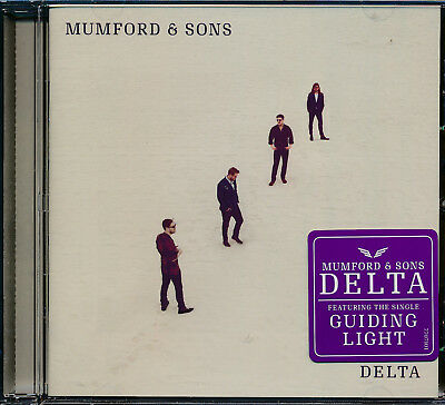 Mumford and Sons Delta CD NEW Guiding Light
