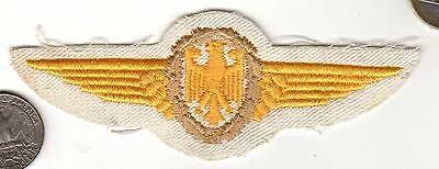 Bundeswehr German Post WWII NATO  Wings Patch Germany