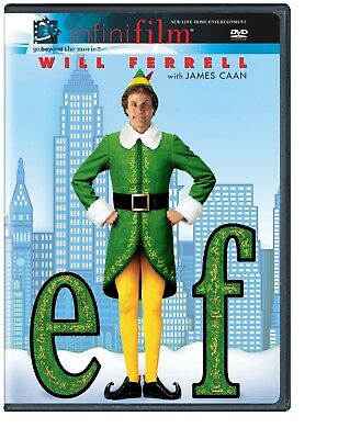 Elf (Infinifilm Edition) DVD Will Ferrell; Brand New