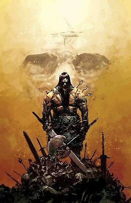 (2019) CONAN THE BARBARIAN #1 Gerardo Zaffino 1:25 VARIANT COVER