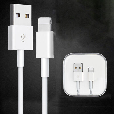 Apple USB Cables For Original iPhone 5 S 6 7 8 X Plus Data Charging Charger Cord