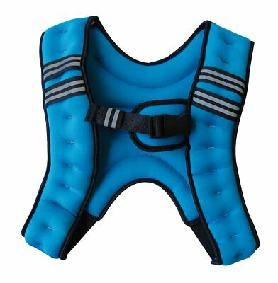 Sveltus 1798 Unisex Adult Weighted Vest, Blue, 5 Kg