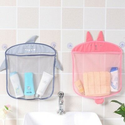 Cartoon Cute Bathroom Hanging Storage Basket Kids Bathing Toy Storage Organizer