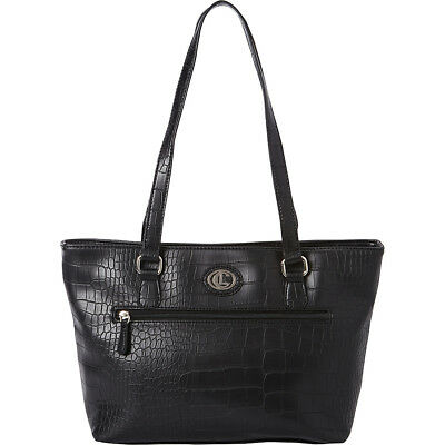 Aurielle-Carryland Crocodile Dundee tote - Black Tote NEW