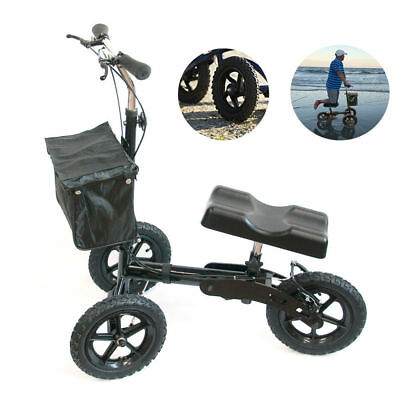 Refurbished All Terrain Steerable Medical Knee Scooter Walker Heavy Duty Crutche