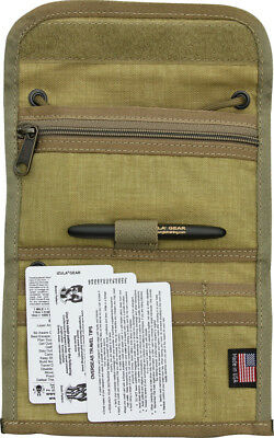 ESEE PASSPORTDT Desert Tan Nylon Multiple Pocket Passport Case