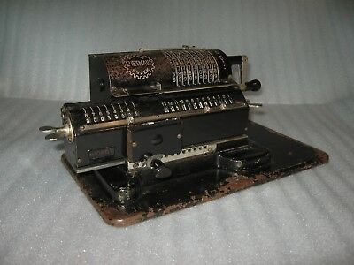 Look!!! The First Russian Calculator Arithmometer Mechanical Calculator Feliks