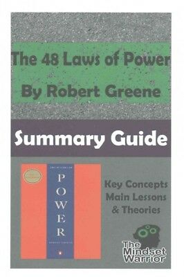 48 Laws of Power : The Mindset Warrior Summary Guide, Paperback by Greene, Ro...
