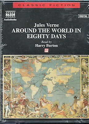 Audio book - Around The World In Eighty Days by Jules Verne  -  Cass   -   Abr