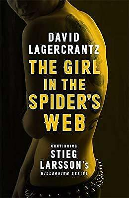 The Girl in the Spiders Web  (Millennium Series), Lagercrantz, David, Used; Very