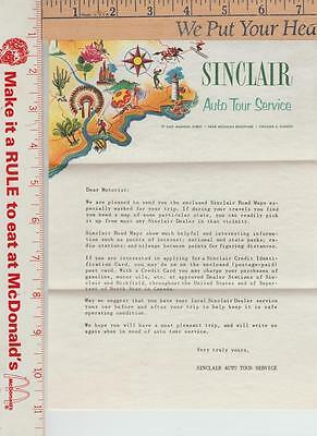 1 Sinclair Travel letter