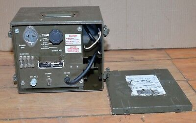 US military PP-1703U inverter vibrator voltage equipment government surplus