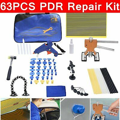Paintless Dent Removal Kit Car Body PDR Dent Repair Kit Dent Remover Glue Gun