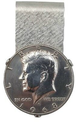 John F Kennedy Half Dollar Money Clip