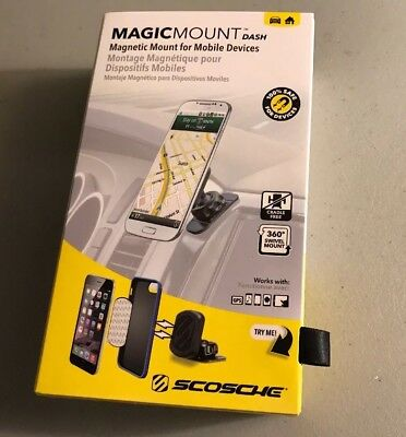New Scosche Magic Mount Dash/ Window Magnetic Mount for Mobile Devices