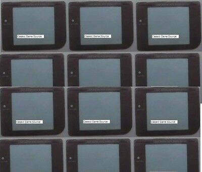 68 Piece LOT 48 Screens For Gameboy GBO GBP GBC GBA + 20 Batteries CR2032 W/tabs