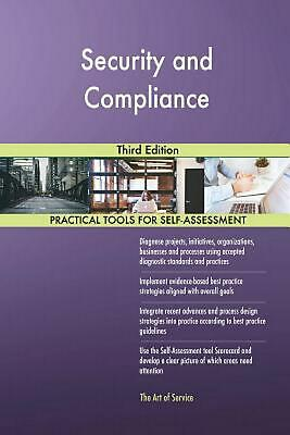 Security and Compliance Third Edition by Gerardus Blokdyk (English) Paperback Bo