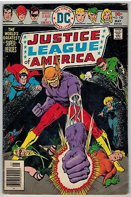 Justice League Of America #130 1976 Dc Bronze Age Reader!