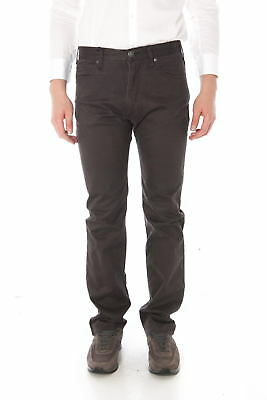 Pantaloni Armani Jeans AJ Jeans Trouser REGULAR FIT Uomo Marrone 06J31DF 47