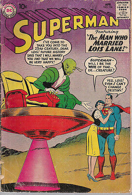 SUPERMAN #136 (1960) DC Comics  G-VG