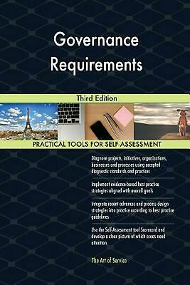 Governance Requirements Third Edition by Gerardus Blokdyk (English) Paperback Bo
