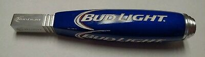 """Bud Light Blue/White Beer Tap Handle - 7.3""""   SHIPS FREE!!"""