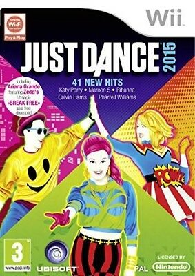 Nintendo Wii game - Just Dance 2015 ENGLISH boxed