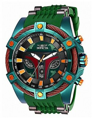 Star Wars Boba Fett Men's Limited Edition Chronograph Watch #1472