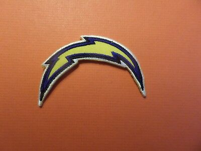 Los Angeles Chargers Nfl Embroidered Iron On 2-1/2 X 3-1/8 Patch