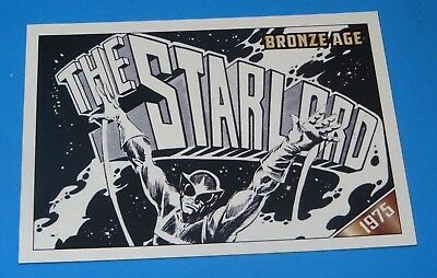 Marvel Comics Trading Card The Starlord Bronze Age  **Free Shippng Canada & Usa