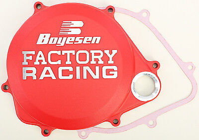 Boyesen Factory Clutch Cover Red CC-06CR 59-7206CR