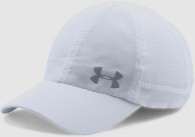 Nwt Under Armour 1291073 Women s Fly-By Armourvent Adjustable White Cap Hat   25 6e4d43636848